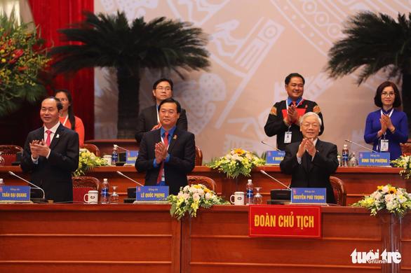 Tổng bí thư Nguyễn Phú Trọng: 'Tránh nhạt Đảng, khô Đoàn' - Ảnh 4.