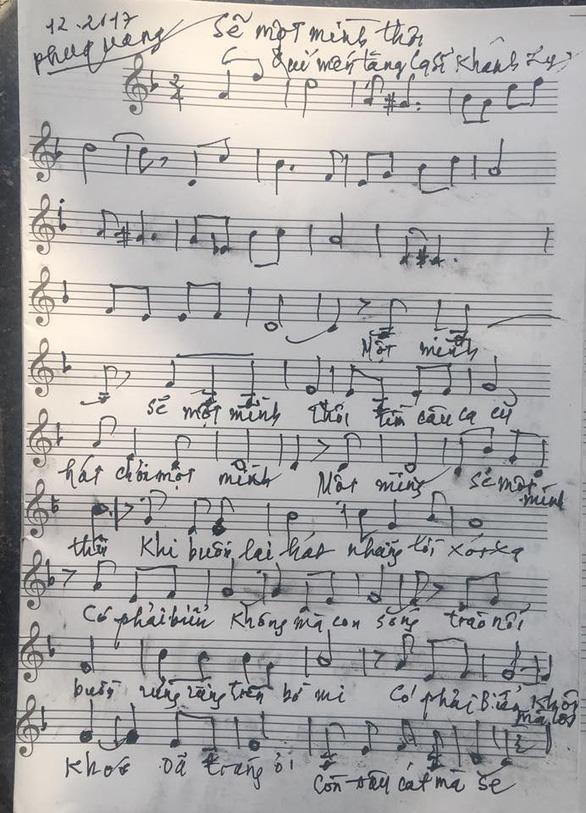 Phú Quang công bố ca khúc tặng Khánh Ly - Ảnh 4.