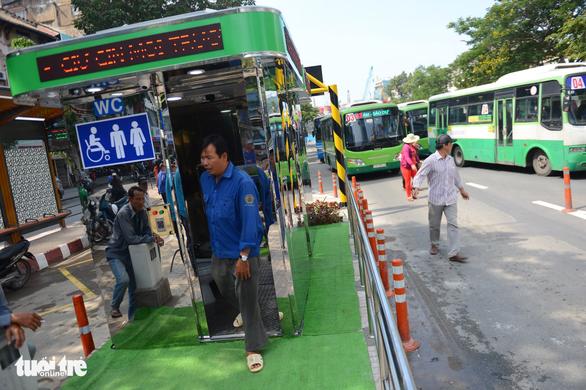 TP.HCM khánh thành trạm xe buýt Hàm Nghi hiện đại - Ảnh 6.