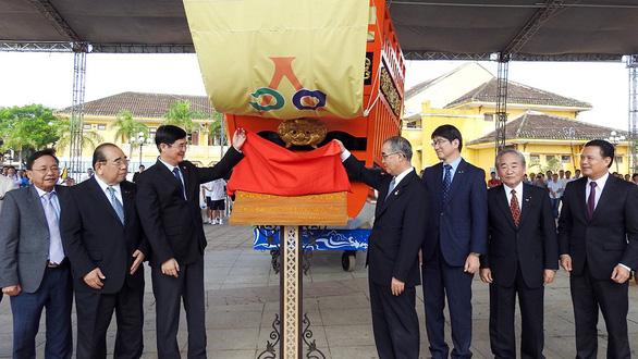 Người Nhật tặng Châu ấn thuyền cho Hội An - Ảnh 6.