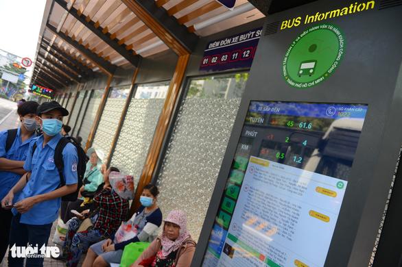 TP.HCM khánh thành trạm xe buýt Hàm Nghi hiện đại - Ảnh 2.