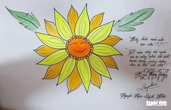 Hoa hướng dương chung sức giúp bệnh nhi ung thư - Ảnh 9.