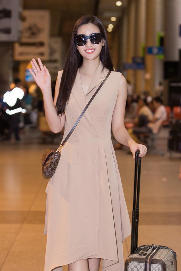 Đỗ Mỹ Linh rạng rỡ về nước sau một tháng ở đấu trường Miss World - Ảnh 8.