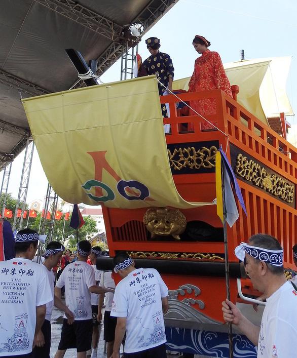 Người Nhật tặng Châu ấn thuyền cho Hội An - Ảnh 9.