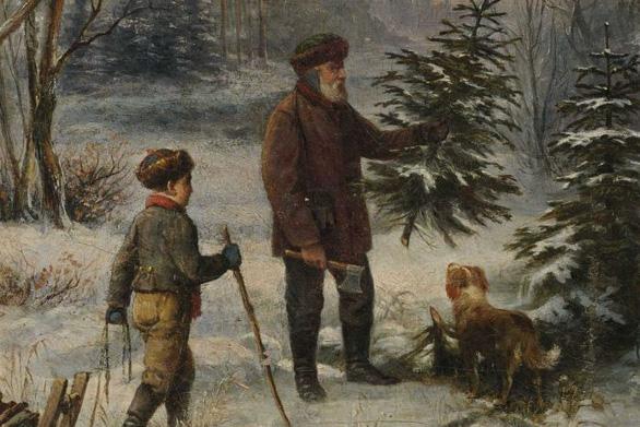 Tại sao Noel lại trang trí cây thông? - Ảnh 2.