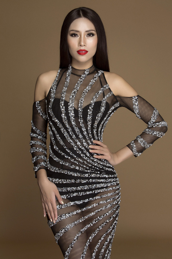 Nguyễn Thị Loan rạng rỡ tại Hoa hậu hoàn vũ thế giới 2017 - Ảnh 7.