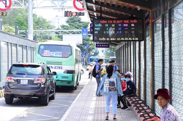 TP.HCM khánh thành trạm xe buýt Hàm Nghi hiện đại - Ảnh 10.