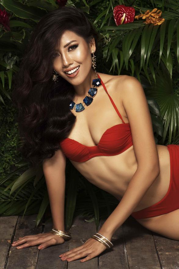 Nguyễn Thị Loan khoe vẻ đẹp bốc lửa trước chung kết Miss Universe 2017 - Ảnh 4.