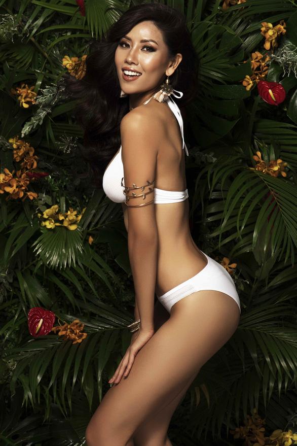 Nguyễn Thị Loan khoe vẻ đẹp bốc lửa trước chung kết Miss Universe 2017 - Ảnh 11.