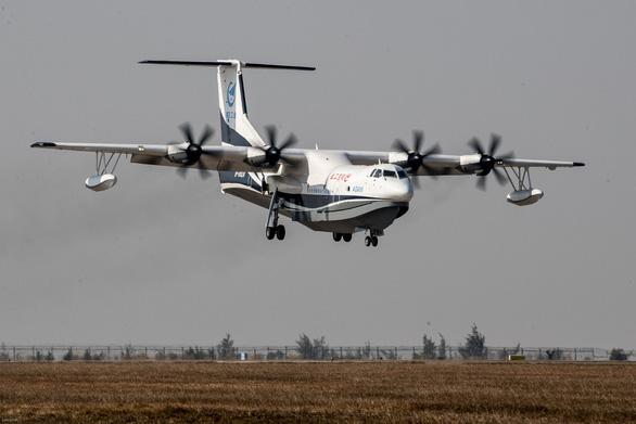 Trung Quốc thử nghiệm thủy phi cơ lớn nhất thế giới, bao quát Biển Đông - Ảnh 1.