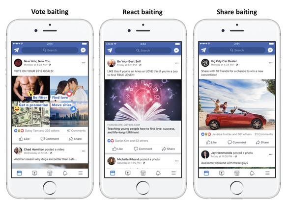 Facebook 'đánh tụt hạng' những nội dung chỉ nhằm 'câu Like' - Ảnh 1.
