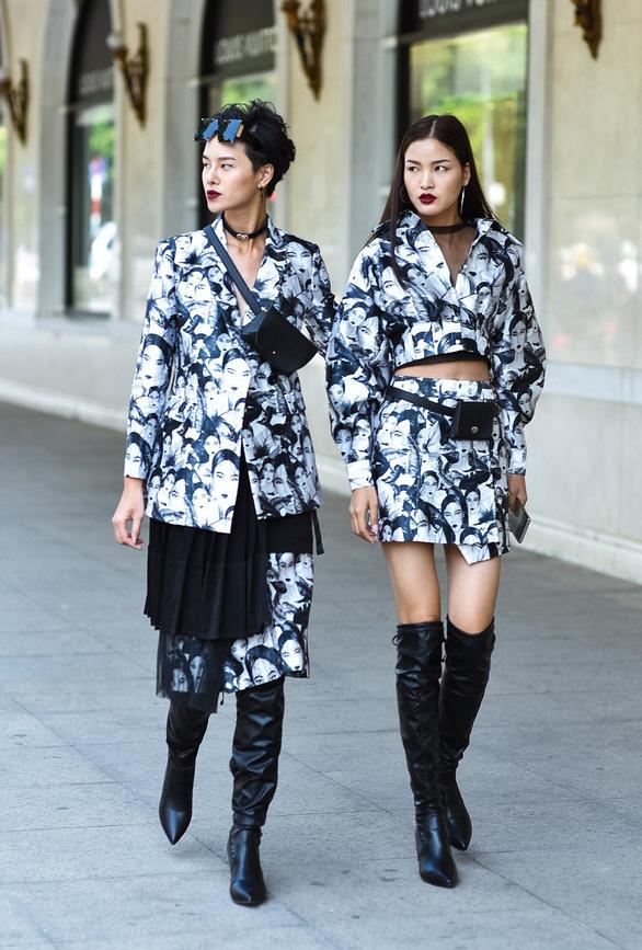 Thời trang đường phố độc lạ tại Vietnam International Fashion Week - Ảnh 12.