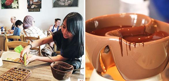 Đến Brussels làm chocolate - Ảnh 1.