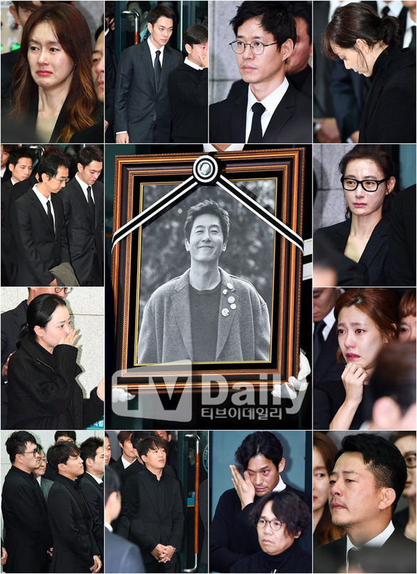 Song Joong Ki hoãn tuần trăng mật đến viếng Kim Joo Hyuk - Ảnh 4.