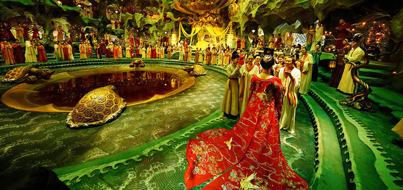 Trần Khải Ca hoàn thành ước mơ Đại Đường trong Yêu miêu truyện - Ảnh 12.