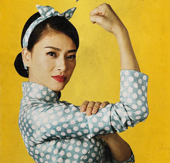 Ngô Thanh Vân gửi lời chào nữ quyền trước khi đến Busan - Ảnh 3.