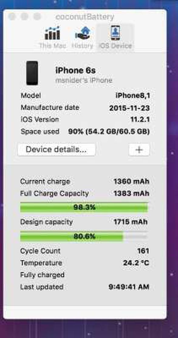 Làm gì khi nghi ngờ pin là lỗi khiến iPhone chậm chạp? - Ảnh 3.