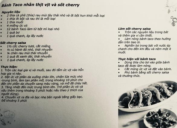 Nấu ăn vào mùa cherry chín cùng vua bếp Ngô Thanh Hòa - Ảnh 2.