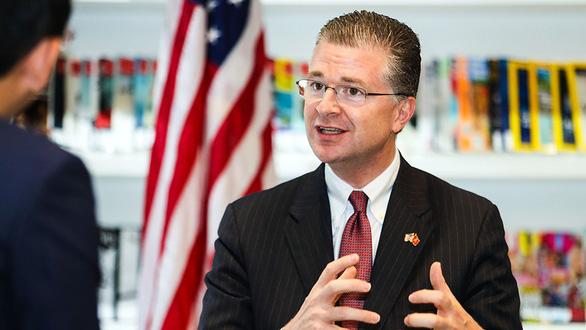 Tân đại sứ Mỹ Daniel J. Kritenbrink: Giấc mơ thành sự thật! - Ảnh 1.