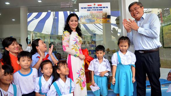 Khánh thành thư viện sách do Chủ tịch nước tài trợ - Ảnh 10.