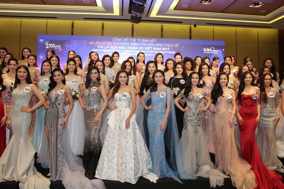 Công bố những người đẹp vòng bán kết Hoa hậu Hoàn vũ Việt Nam 2017 - Ảnh 1.