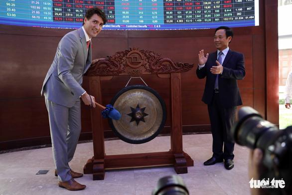 Nửa ngày của Thủ tướng Canada Trudeau tại TP.HCM - Ảnh 3.