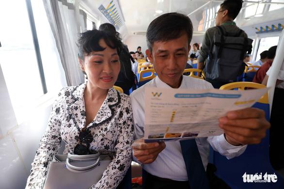Tuyến buýt sông đầu tiên ở Sài Gòn chính thức hoạt động - Ảnh 13.