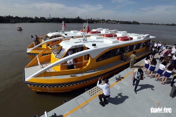 Tuyến buýt sông đầu tiên ở Sài Gòn chính thức hoạt động - Ảnh 17.