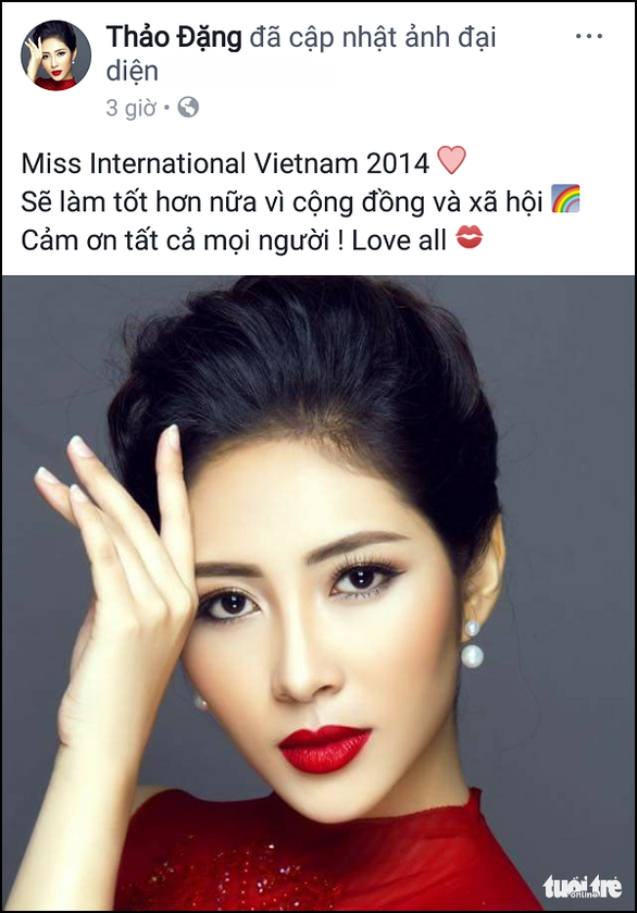 Bất bình, Hoa hậu Đại dương 2014 Đặng Thu Thảo trả danh hiệu - Ảnh 4.