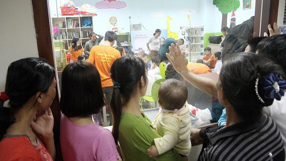 Bệnh nhi ung thư dự Ngày hội hoa hướng dương tại Hà Nội - Ảnh 10.