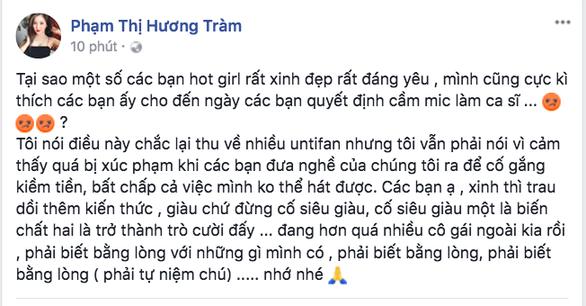 Chi Pu hát, không chỉ có Hương Tràm chê - Ảnh 4.