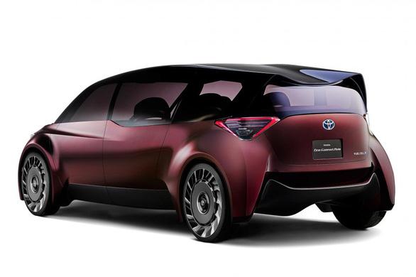 Xe chạy pin nhiên liệu 'độc lạ' dài gần 5m của Toyota - Ảnh 2.