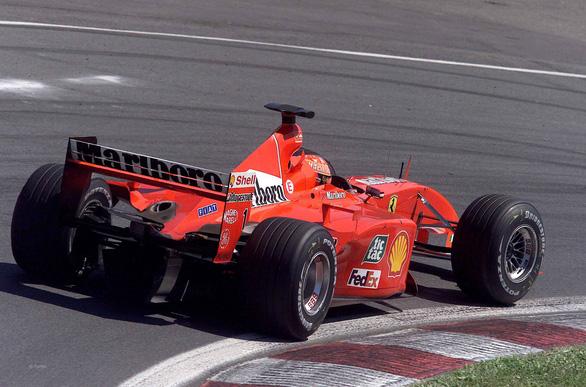Siêu xe huyền thoại của Michael Schumacher bán với giá 7,5 triệu USD - Ảnh 1.