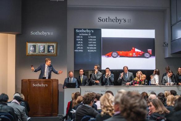 Siêu xe huyền thoại của Michael Schumacher bán với giá 7,5 triệu USD - Ảnh 3.