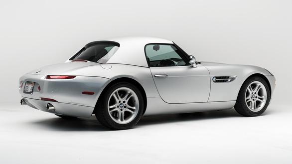 Ngắm siêu xe BMW Z8 của Steve Jobs sắp bán đấu giá - Ảnh 4.