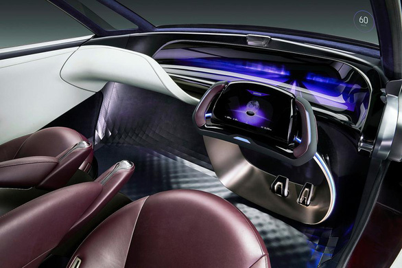 Xe chạy pin nhiên liệu 'độc lạ' dài gần 5m của Toyota - Ảnh 6.