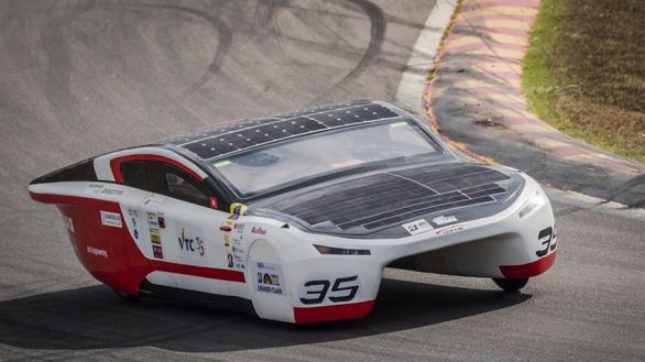 Ngắm những chiếc xe năng lượng mặt trời độc đáo - Ảnh 9.