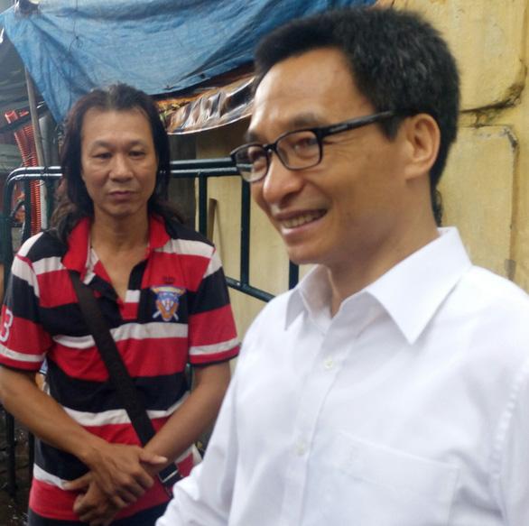 Phó thủ tướng Vũ Đức Đam bất ngờ thị sát Hãng phim truyện Việt Nam - Ảnh 6.