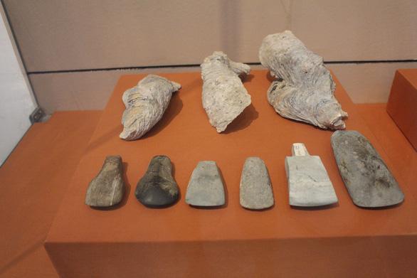 Trưng bày cổ vật văn hóa Óc Eo ở bảo tàng Chăm phục vụ APEC - Ảnh 5.