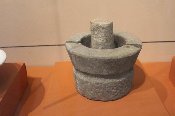 Trưng bày cổ vật văn hóa Óc Eo ở bảo tàng Chăm phục vụ APEC - Ảnh 6.