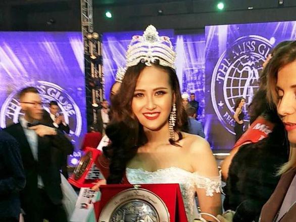 Khánh Ngân chiến thắng tại Hoa hậu Hoàn cầu 2017 - Ảnh 1.