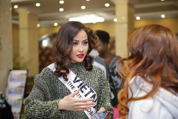 Khánh Ngân chiến thắng tại Hoa hậu Hoàn cầu 2017 - Ảnh 6.