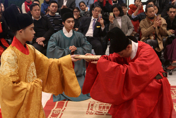 Dệt nên triều đại - khôi phục văn hóa cung đình đã phôi phai - Ảnh 11.