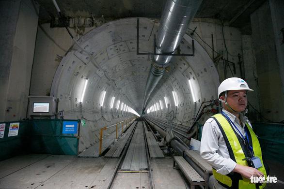 Robot TBM sắp thông đường hầm đầu tiên tuyến metro số 1 - Ảnh 5.