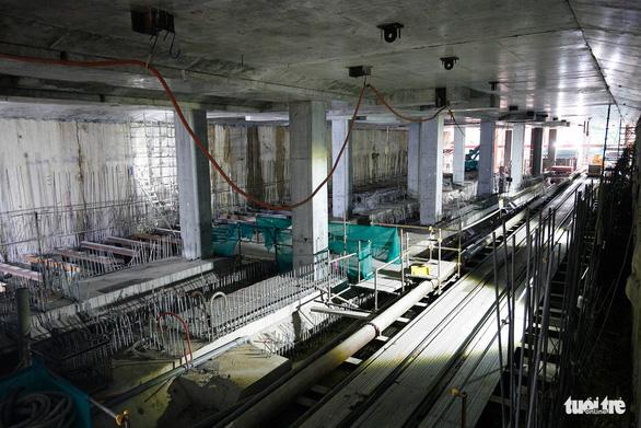 Robot TBM sắp thông đường hầm đầu tiên tuyến metro số 1 - Ảnh 9.