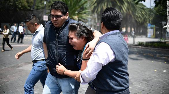 Động đất lớn ở Mexico, hơn 110 người chết - Ảnh 5.