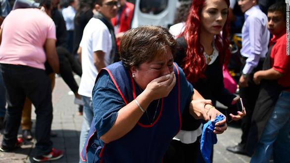 Động đất lớn ở Mexico, hơn 110 người chết - Ảnh 1.