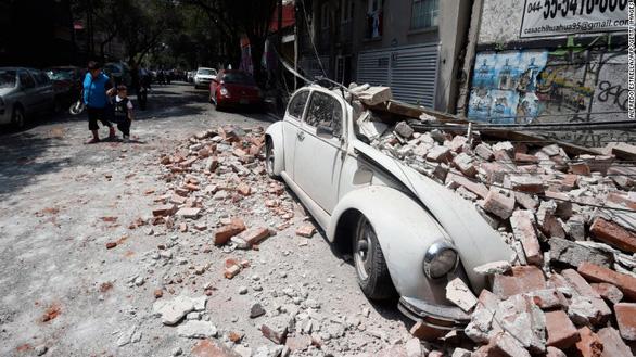 Động đất lớn ở Mexico, hơn 110 người chết - Ảnh 6.