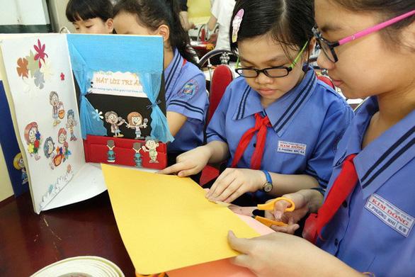 Thiệp 20-11 dễ thương học trò Sài Gòn tự làm tặng thầy cô - Ảnh 8.
