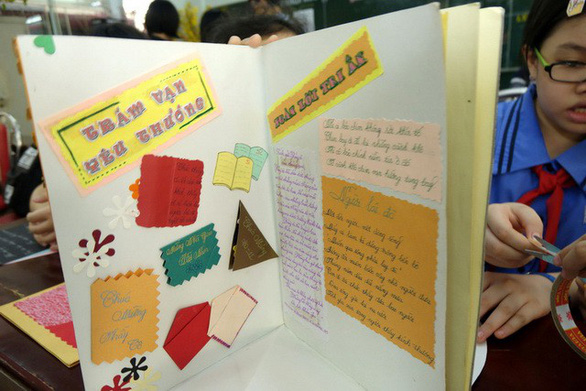 Thiệp 20-11 dễ thương học trò Sài Gòn tự làm tặng thầy cô - Ảnh 11.